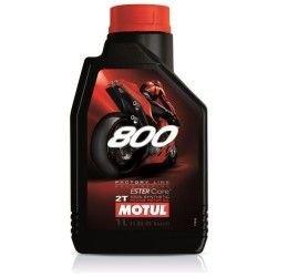 Olio miscela Motul 800 2T Factory line Road racing 1L
