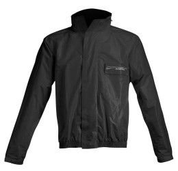 Completo antipioggia giacca+pantalone Acerbis Rain Suit Logo colore nero