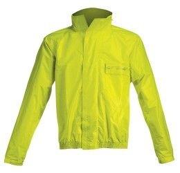 Completo antipioggia giacca+pantalone Acerbis Rain Suit Logo colore giallo fluo-nero