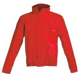 Completo antipioggia giacca+pantalone Acerbis Rain Suit Logo colore rosso-nero