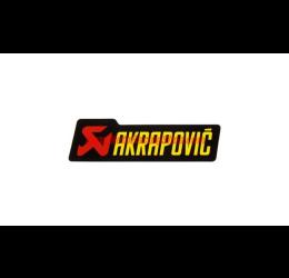Adesivo con scritta AKRAPOVIC - 90x26.5