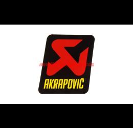 Adesivo resistente al calore con logo AKRAPOVIC - 90x95