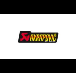 Adesivo resistente al calore con scritta AKRAPOVIC SP - 150x44