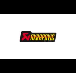 Adesivo resistente al calore con scritta AKRAPOVIC SP - 180x53