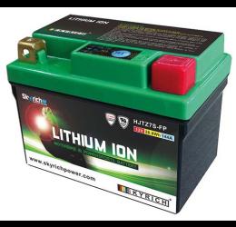 Batteria al Litio Skyrich per Aprilia Tuono 125 4T 17-21 HJTZ7S-FP da 12V/6AH (113x70x85)