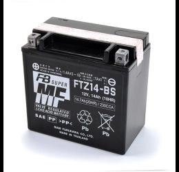 Batteria FURUKAWA per Aprilia Caponord 1000 01-11 FTZ14-BS da 12V/14AH (150x87x145)