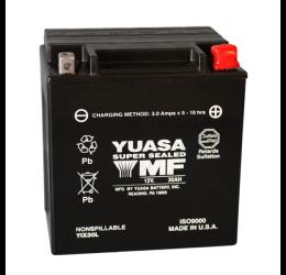 Batteria Yuasa YIX30L da 12V/30AH (166x126x175)