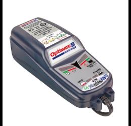 Caricabatterie mantenitore per auto e moto TecMate Optimate 5 Start/Stop + tester