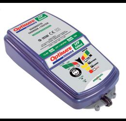 Caricabatterie mantenitore per auto e moto TecMate Optimate Lithium 4S / 5S 9.5 A / 7.5 A per batterie al litio + tester