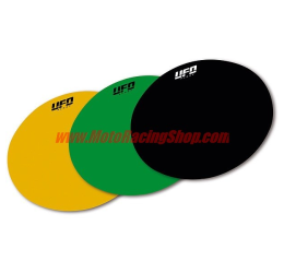 Carta adesiva ovale Ufo plast per portanumeri (per codici ME08046/ME08047/ME08048/ME08049) (1 pezzo)