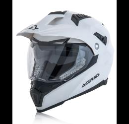 Casco enduro-turismo Acerbis Flip FS-606 bianco