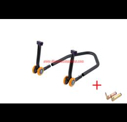 Cavalletto posteriore regolabile Lightech componibile universale a forchetta alta qualità 3.5kg