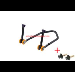 Cavalletto posteriore regolabile Lightech componibile universale a rulli per forchetta montata su tenditore alta qualità 3.5kg