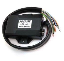 Centralina Zeeltronic gestione anticipo + controllo valvola programmabile modello PDCI-20V RS250 con. per Aprilia RS 250 95-04 con connettori PLUG and PLAY