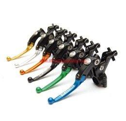 Comando frizione a cavo snodato Accossato Racing versione alleggerita con switch frizione