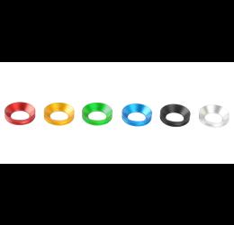 Coppia anelli in alluminio per tampone paratelaio Lightech nuovo modello 2017