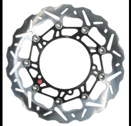 Disco freno anteriore Braking per Aprilia Dorsoduro 750 08-17 SK2 a margherita flottante (1 disco) WK001