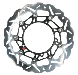 Disco freno anteriore Braking per Aprilia Futura 1000 01-04 SK2 a margherita flottante (1 disco) WK015