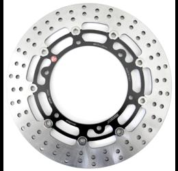 Disco freno anteriore Braking per Aprilia Caponord 1000 01-07 R-FLO flottante (1 disco) AP19FL