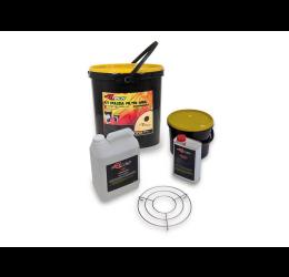 KIT BIO pulizia e olio filtri aria in spugna Racetech (5L detergente + 1L olio)
