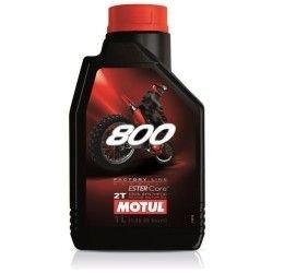 Olio miscela Motul 800 2T Factory line Off-Road racing 1L