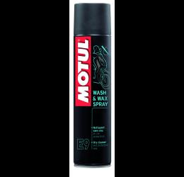 Lucidante e pulitore Motul E9 wash & wax spray 400ml