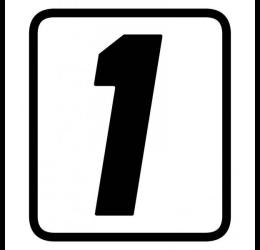 Numeri adesivi Barracuda