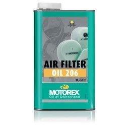 Olio filtro Motorex air filter oil 206 1L