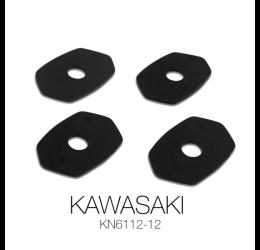 Piastrine frecce Barracuda per carenate Kawasaki modelli dal 2012