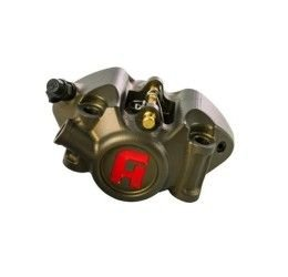 Pinza freno radiale monoblocco MOTO3 CNC ricavata dal pieno Accossato interasse 60mm