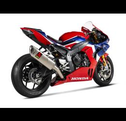 Scarico completo Akrapovic Evolution non omologato con collettori e terminale in titanio per Honda CBR 1000 RR-R 20-21