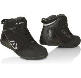 Scarpe moto touring impermeabili Acerbis Step nere