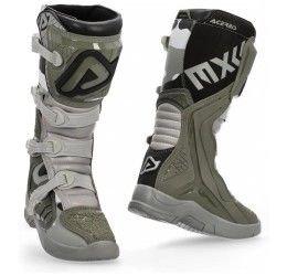 Stivali cross enduro Acerbis X-Team marrone-grigio collezione 2021