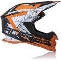 Casco cross enduro Acerbis Profile 4 arancione-bianco-nero collezione 2022