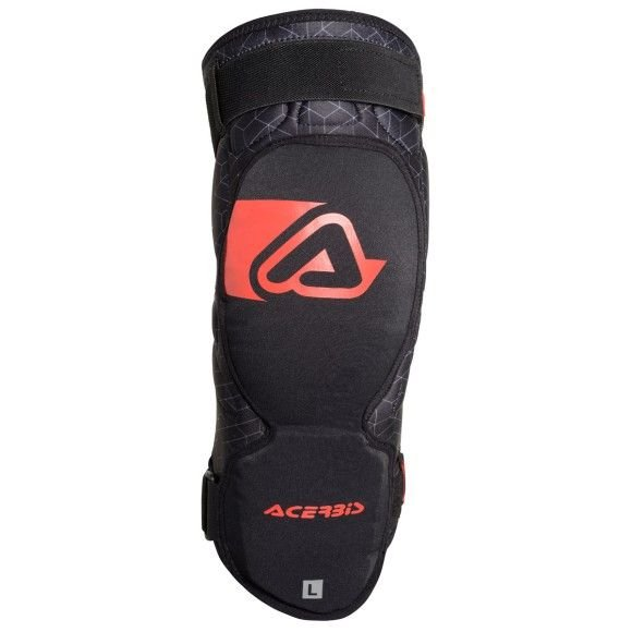 Knee guards Acerbis Soft 3.0 black-red (couple) 2019 collection