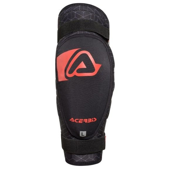 Elbow guards Acerbis Soft 3.0 Junior (couple) black-red 2019 collection