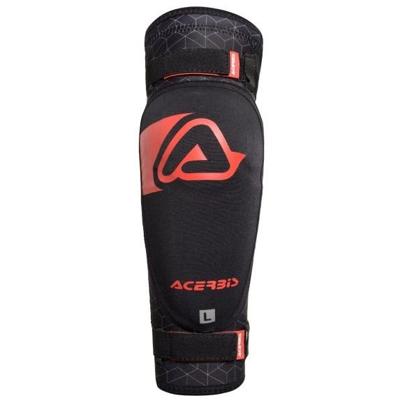 Elbow guards Acerbis Soft 3.0 (couple) black-red 2019 collection
