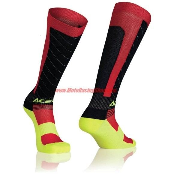 Off-Road socks Acerbis Mx Compression blue-red (LAST PIECES AVAILABLE)