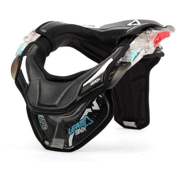 Protections necks Leatt Neck Brace SNX Clear Black - Medium