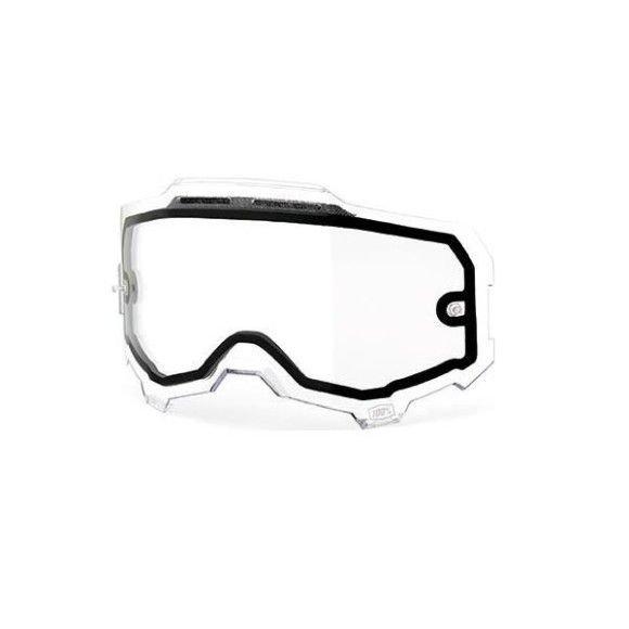 Lens 100% Armega Clear Vented Dual