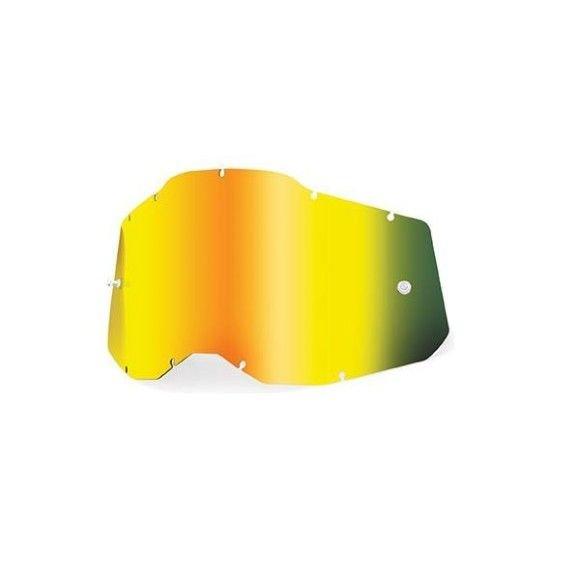 Lens 100% for Strata 2 Accuri 2 Racecraft 2 Mirror Gold