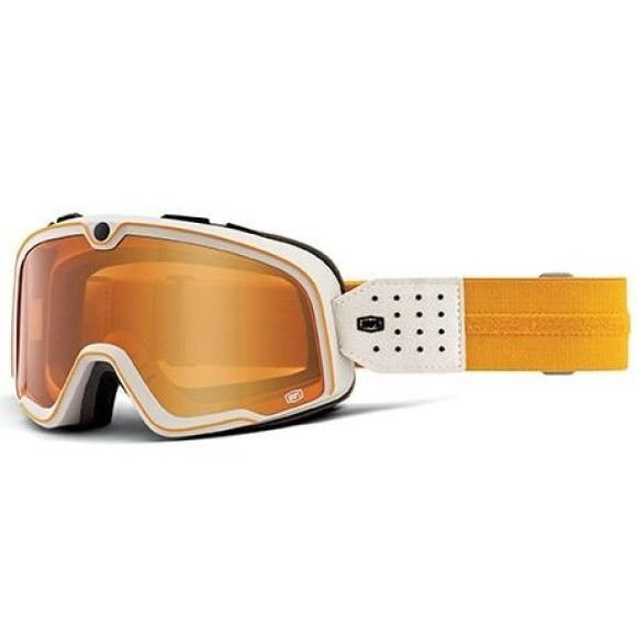 Off-Road Goggle 100% The Barstow model Oceanside persimmon lens