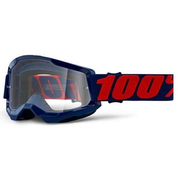Off-Road Goggle 100% The Strata 2 model Masego Clear lens
