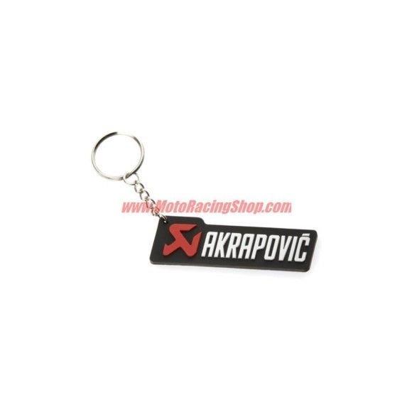 Keychains AKRAPOVIC black and silver horizontal