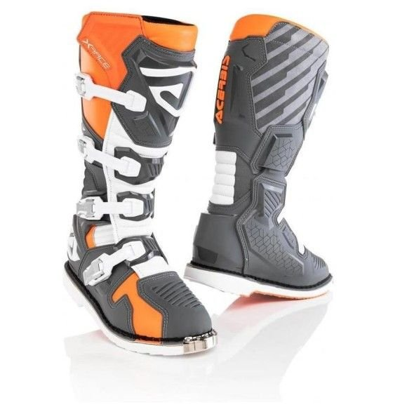 Off-road boots Acerbis X-Race Orange/Grey 2021 collection