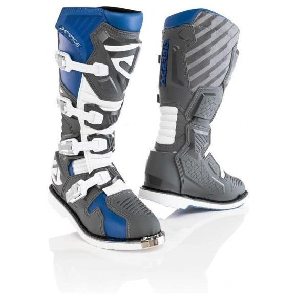 Off-road boots Acerbis X-Race Blue/Grey 2021 collection