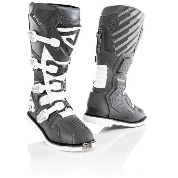 Off-road boots Acerbis X-Race Grey 2021 collection