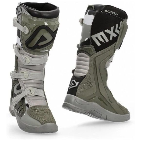 Off-road boots Acerbis X-Team brown-gray 2021 collection