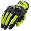 Acerbis touring gloves Ramsey My Vented black-fluo yellow colour 2020