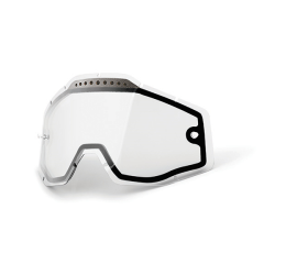 Lens 100% Clear Vented Dual